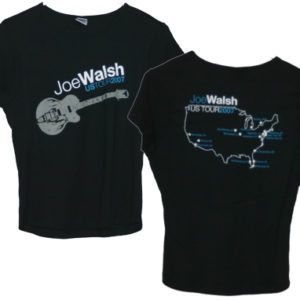 2007 Joe Walsh Tour Date Babydoll Shirt