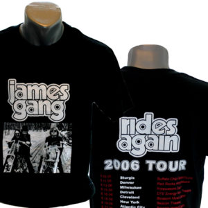 James Gang 2006 Tour Shirt