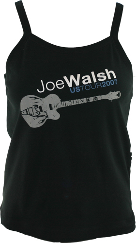 Joe Walsh 2007 Tour Ladies Tank