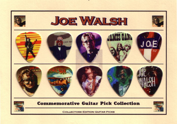 Joe Walsh Guitar Pick Collection