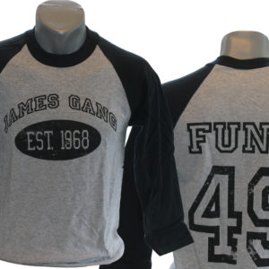 James Gang 2006 Tour Baseball Jersey